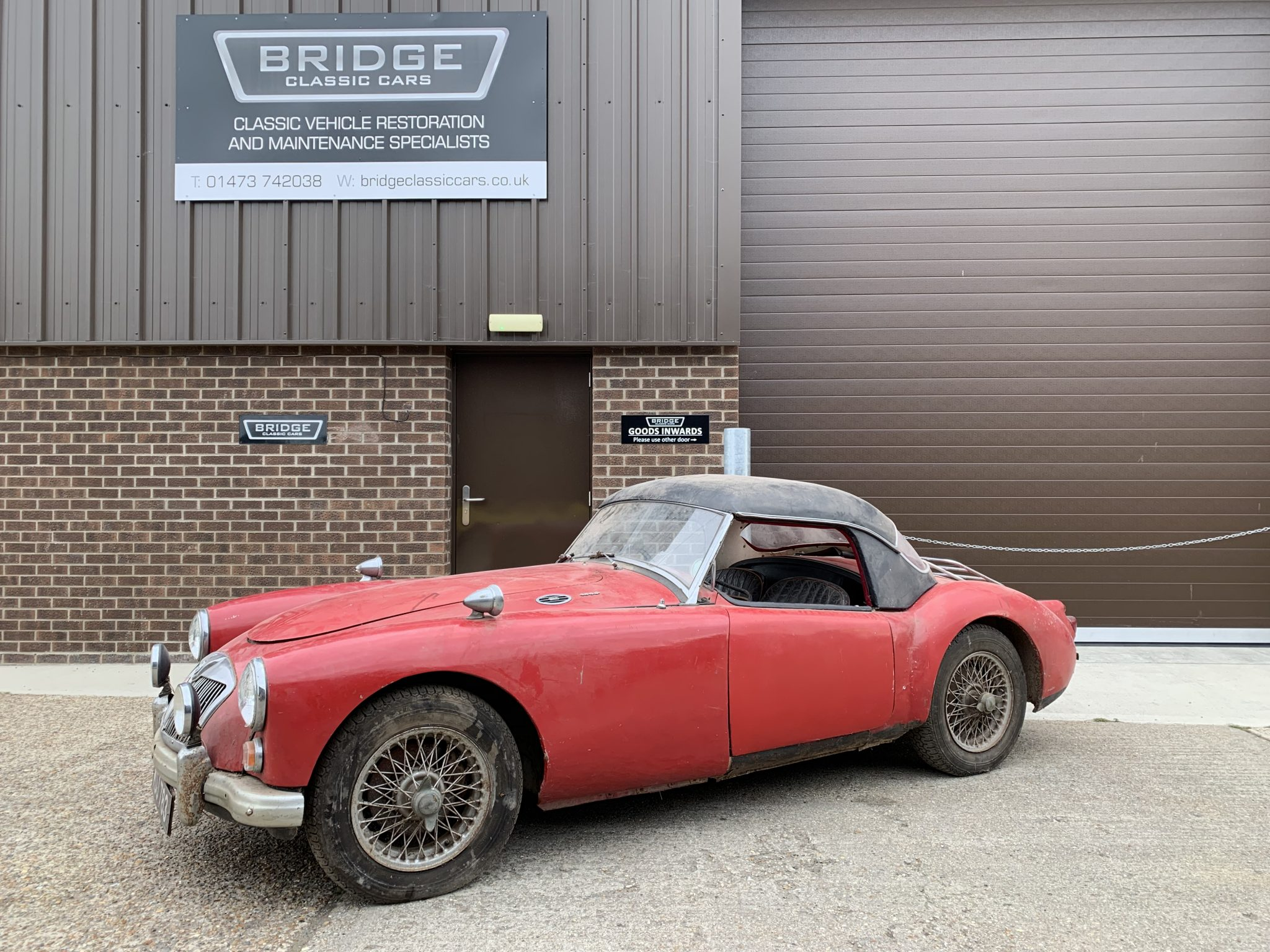 1960 MGA: 26 yrs stored in a barn