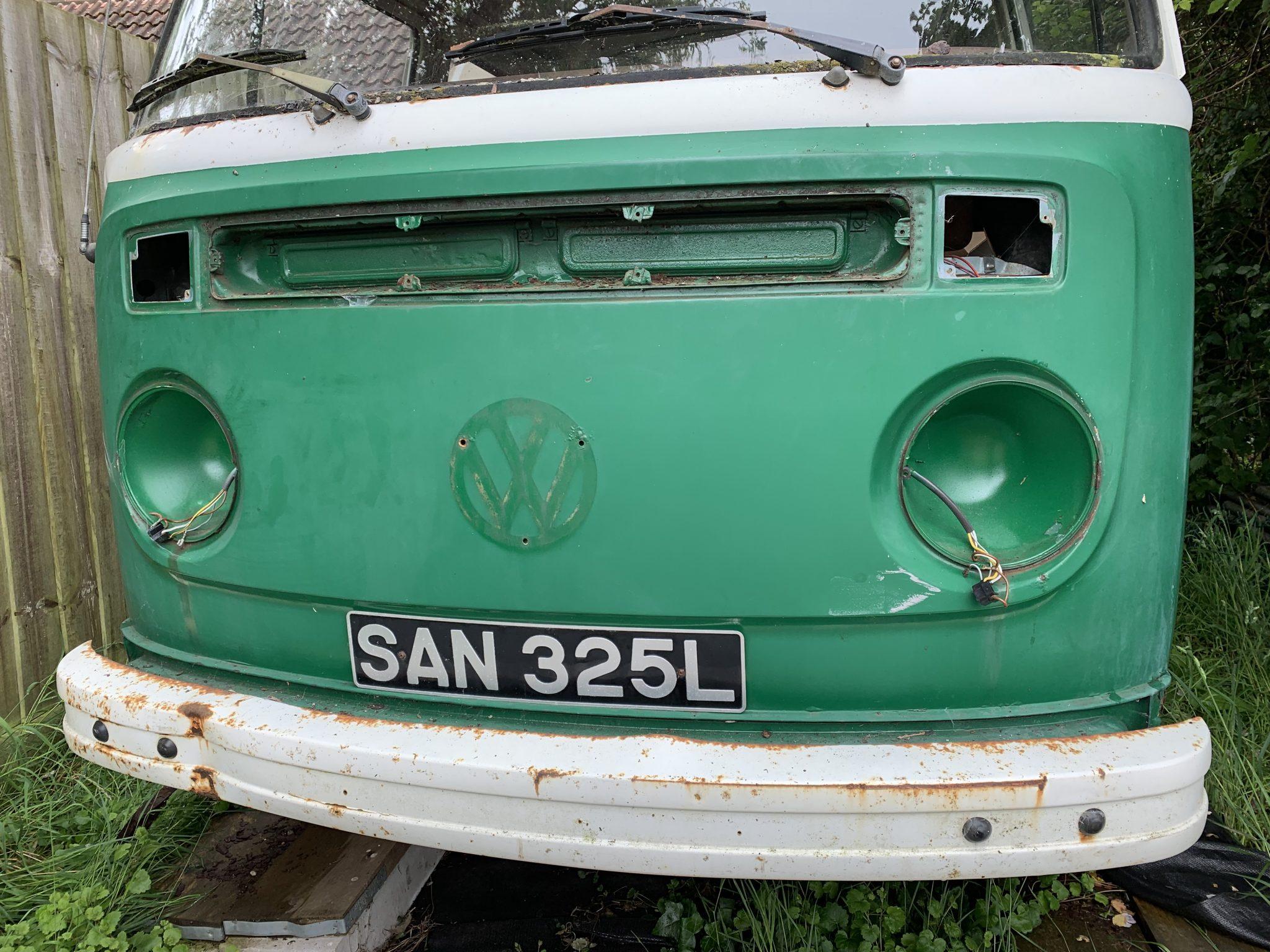Beginning the restoration journey mid 2020 - 1973 VW T2 - Bridge