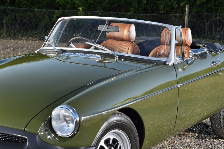 1971 MGB Stainless Steel Exhaust - Bridge Classic Cars