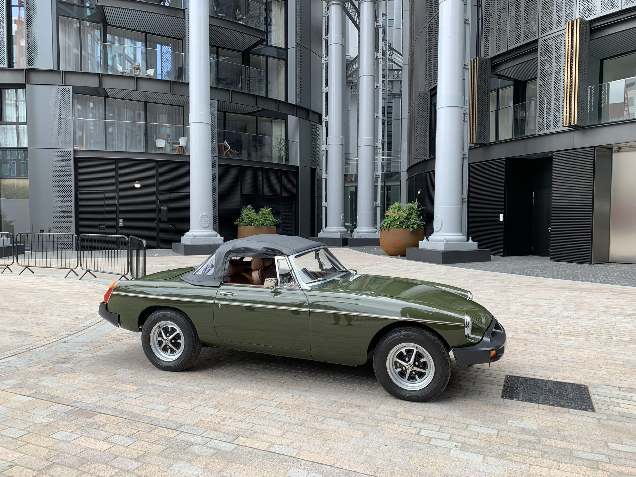 MGB Roadster Home Time