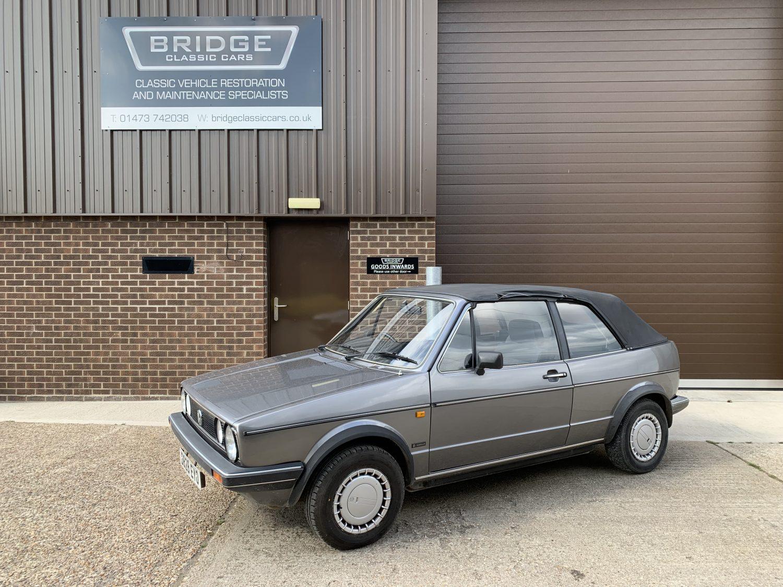 1986 Volkswagen Golf Cabriolet