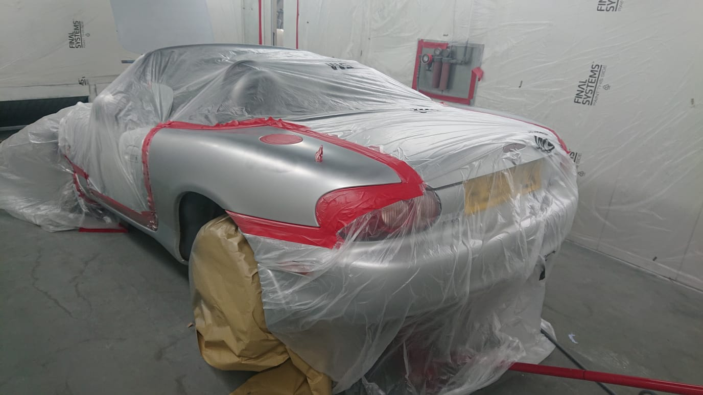 Preparing our Mazda MX-5 for paint