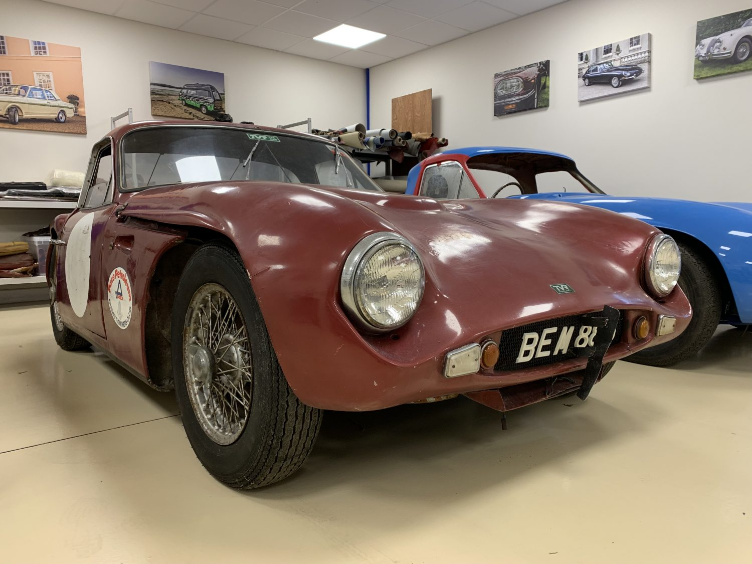1962 TVR Grantura Race Car