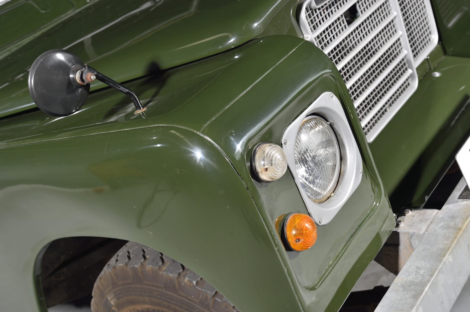 1976 Land Rover Series 3 LCY517P