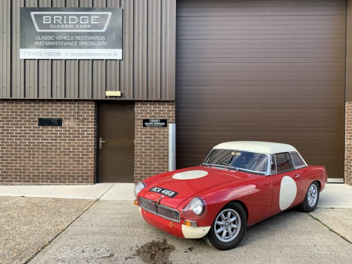 1964 MG B FIA Race Car