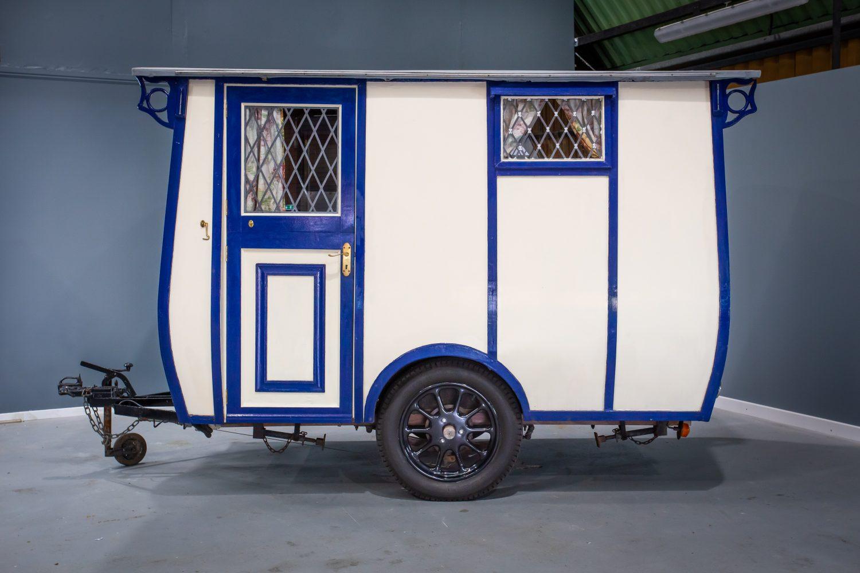 1928 Bill Knott Bluebird Midland Caravan