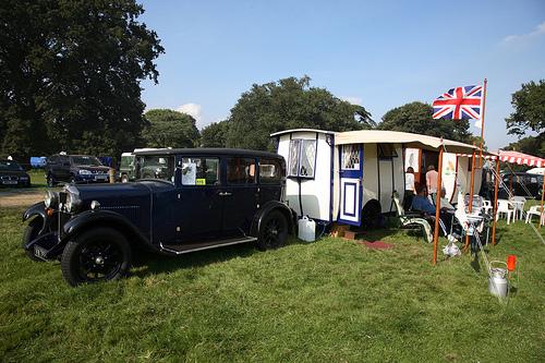 1928 Bill Knott - Midland Caravans and Bluebird Caravans