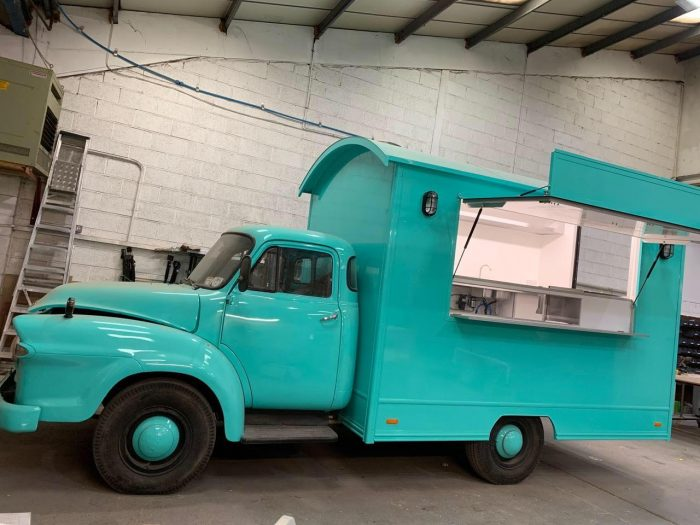 1971 Bedford J Type Indian Takeaway Truck