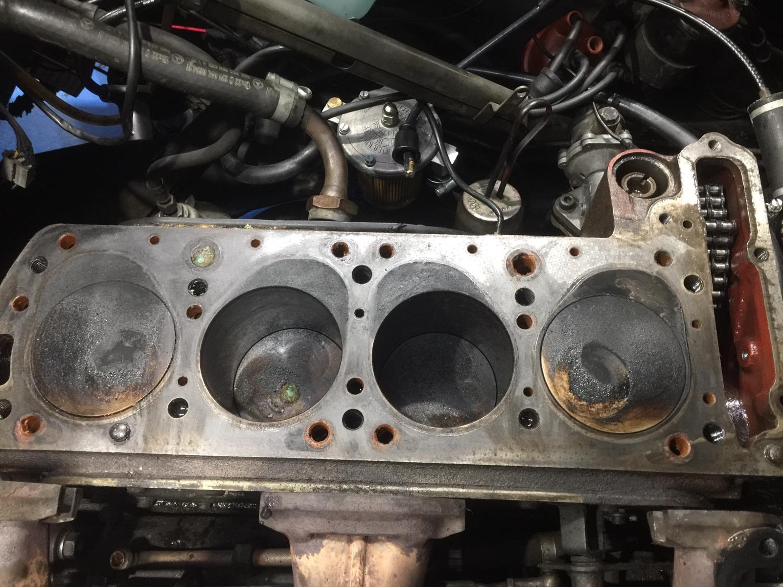 1957 Mercedes 190SL Engine