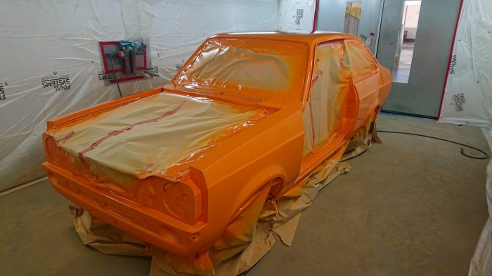 1977 RS2000 in paint