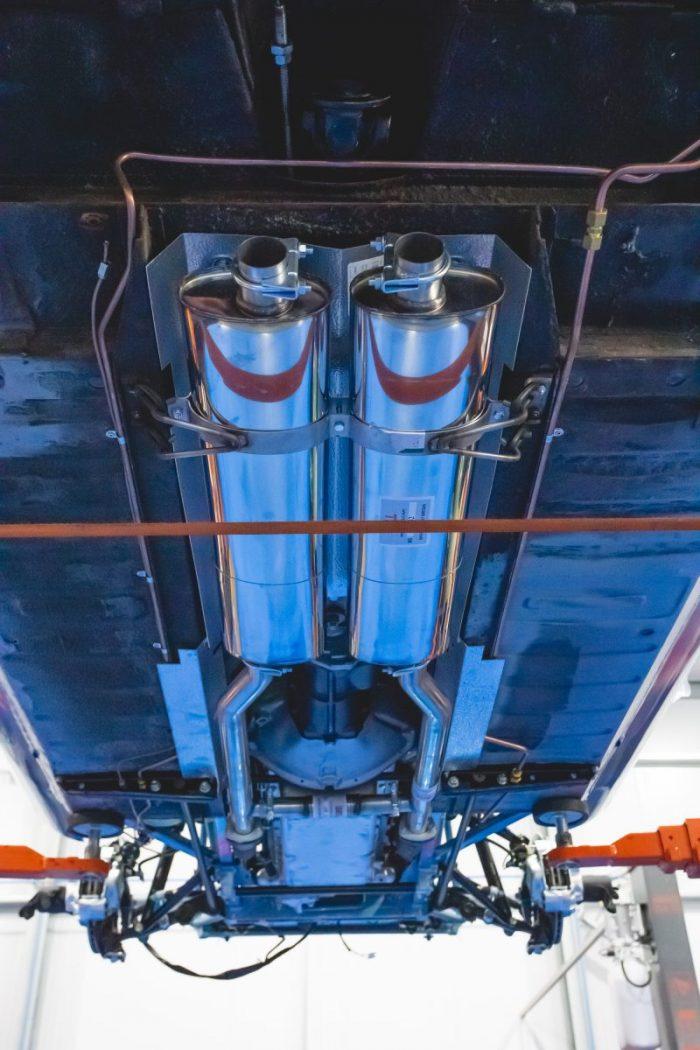Jaguar E-Type Series3 Exhaust
