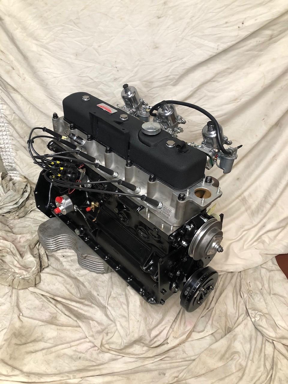 Jensen 541R Engine