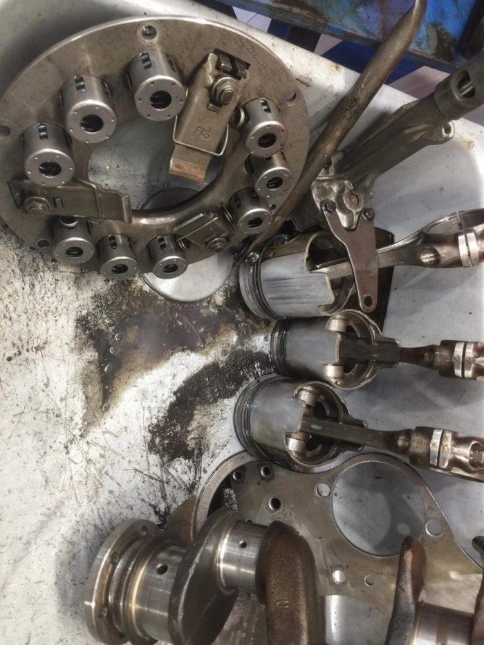 Mercedes 190SL Engine Rebuild