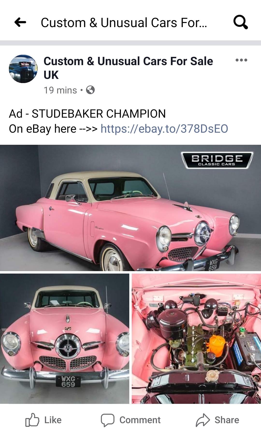 Custom Unusual Cars For Sale January 2020 Bridge Classic Cars Bridge Classic Cars