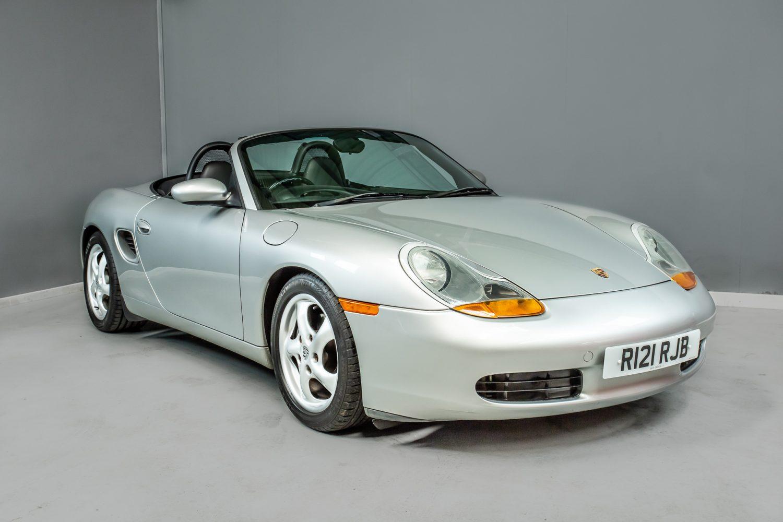 1998 Porsche Boxster 2.5l10