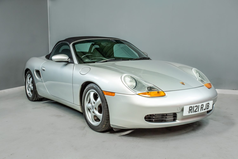1998 Porsche Boxster 2.5l6