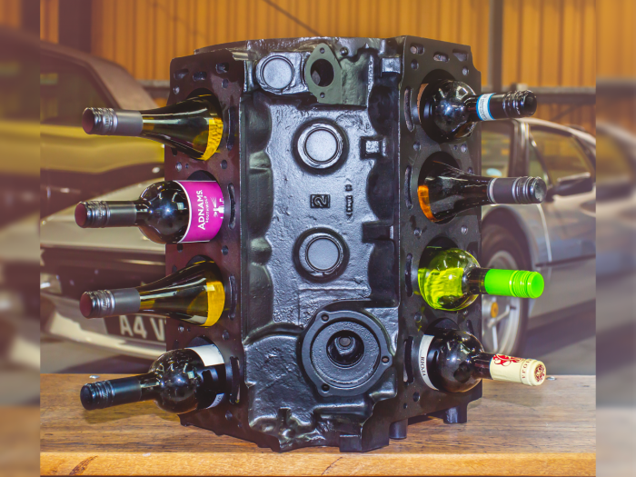 1978 Triumph Stag Engine Wine Rack
