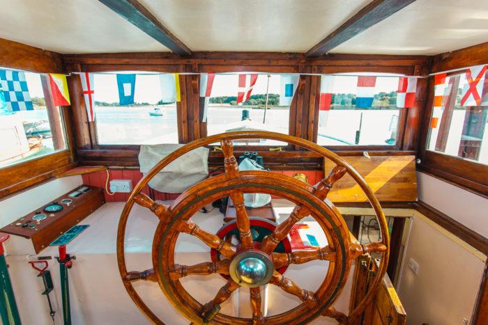 Aleida 1882 Dutch 'Stevenaak' House Boat