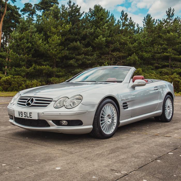 2003 Mercedes SL55 V8
