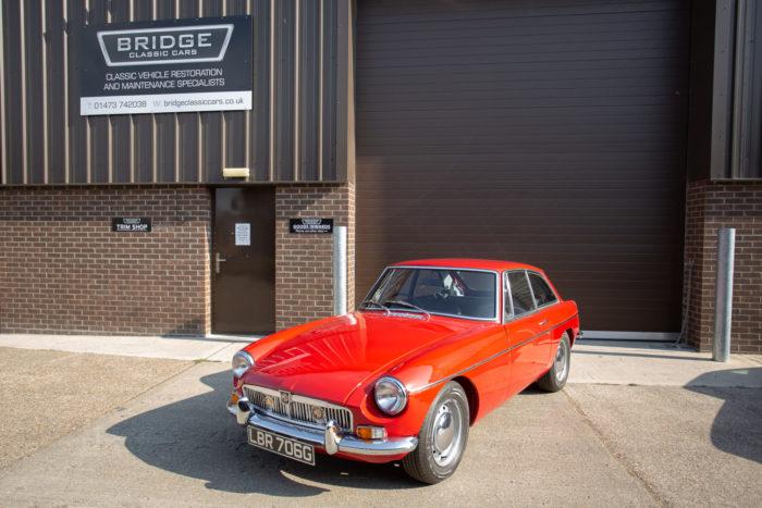 1968 MG B GT
