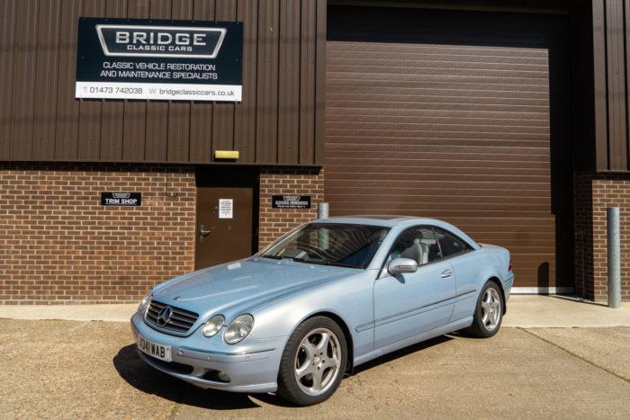 2000 Mercedes CL600 V12