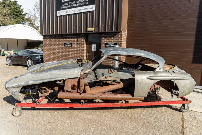 1959 Jensen 541R Restoration project FOR SALE-16