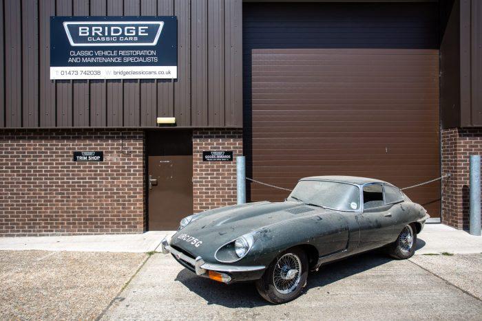 1968 Jaguar E-Type 4.2